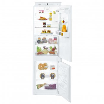 Холодильник liebherr icbs 3324, 255 л, двухкамерный, белый