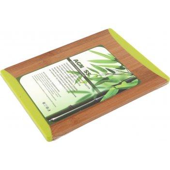 Доска разделочная 27*20*1,0 см, бамбук