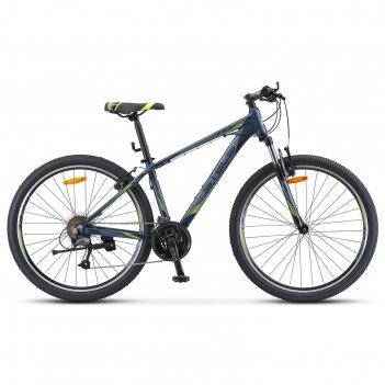 Велосипед 27,5 stels navigator-710 v, v010, цвет темно-синий 15.5