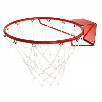 Корзина баскетбольная №7, d 450 мм, стандартная, пруток 16 мм, с сеткой