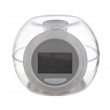 Электронные часы-будильник,  7 подсветок, температура, дата,7 звуков,3ааа,