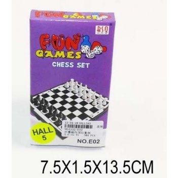 Ни шахматы магнитн. веселые игры