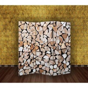 Ширма дровница, 160 x 150 см