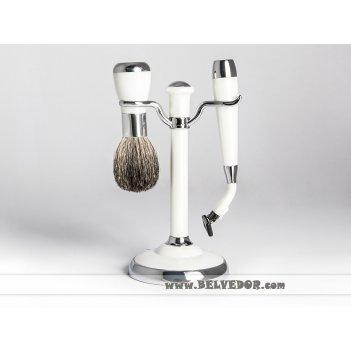 Набор для бритья mss 1622 per/c wpearl (совместим с gillette mach-3) 2 пр.