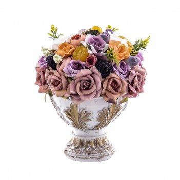 белые вазы