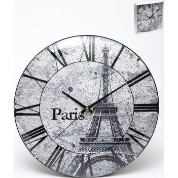 Часы настенные круглые home art 30 см