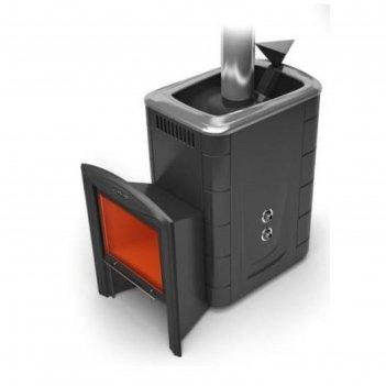 Печь для бани термофор гейзер 2014 carbon витра, закрытая каменка, теплооб