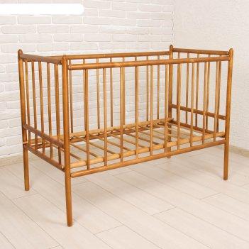 Детская кроватка «женечка-7», цвет орех