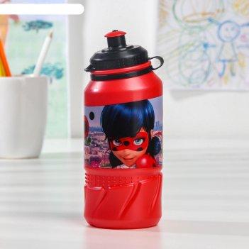 Бутылка stor «леди баг», 420 мл