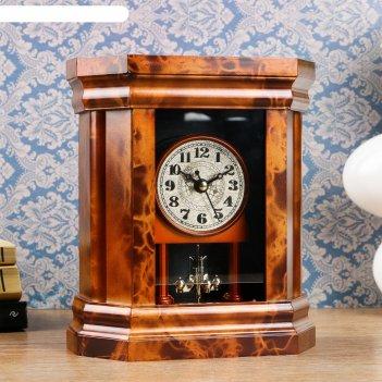 Часы каминные классические, 18.5х16х7 см