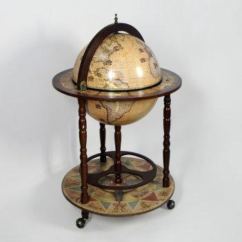 Глобус-бар напольный d 42 (jf-rg-42001-n)