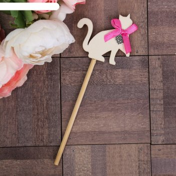Декоративный штекер кот