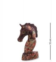 10-013-01 фигурка лошадь (батик, о.ява) мал 15см