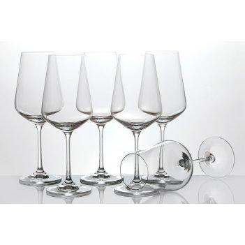 Набор бокалов для вина из 6 шт.сандра 450 мл высота=23,5 см (кор=8набор.)