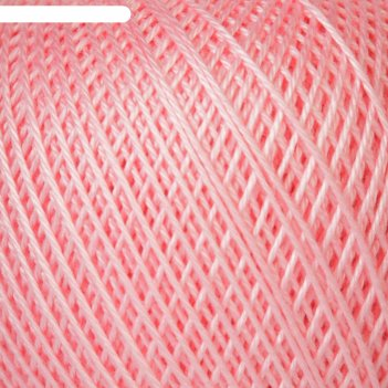 Нитки вязальные нарцисс 395м/100гр  100% мерсеризованный хлопок цвет 1006