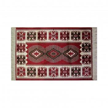 Прямоугольный ковёр atex m14, 0.7 х 1.1 м, цвет red