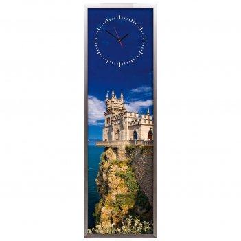 Настенные часы из песка династия 03-012 ласточкино гнездо