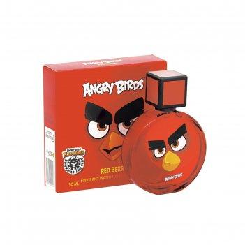 Душистая вода для детей angry birds red berry/красная ягода, 50 мл