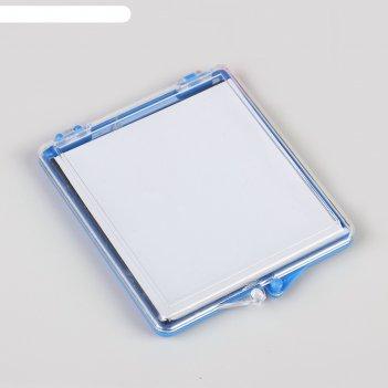 Игольница-магнит квадратная 7,5*7 см, цвет фиолетовый