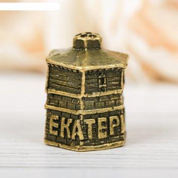 Наперсток сувенирный «екатеринбург» латунь, 2,3 х 2,7 см