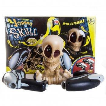 Тир проекционный джонни-черепок с 2-мя бластерами