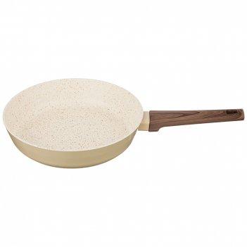 Сковорода с мраморным антипригар.покрытием, 28x5,8см