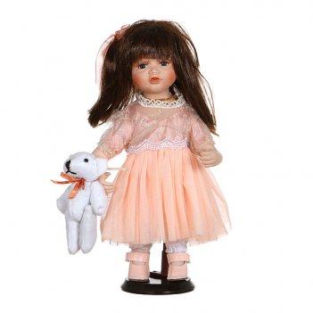 Фарфоровая кукла эрикас мягконабивным туловищем ...