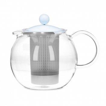 Чайник заварочный, объем: 1 л, материал: стекло, пластик, серия assam, a18