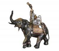 Статуэтка африканка на слоне 37*15*44 см