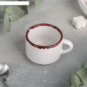 Чашка кофейная «antica perla», 80 мл