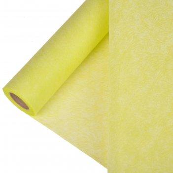Фетр ламинированный рельефный велюр 0,5 х 5 м,салатовый