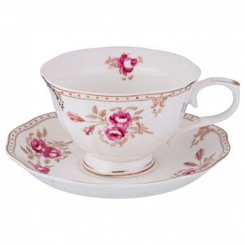 Чайный набор на 1 персону завтрак у королевы 2пр. 220 мл. (кор=36наб.)