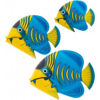 63-051-01 панно рыба набор из трех (о.бали)