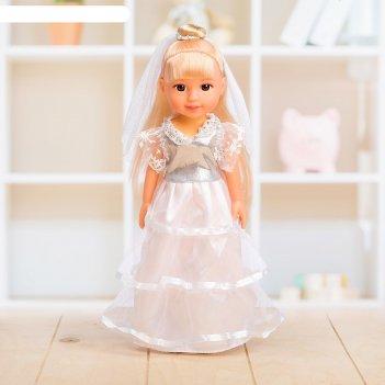 Кукла невеста, с фатой, микс