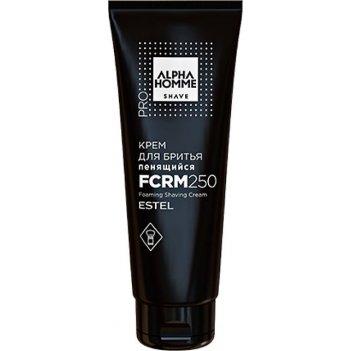 Крем для бритья ah/fcrm250 пенящийся alpha homme pro 250 мл