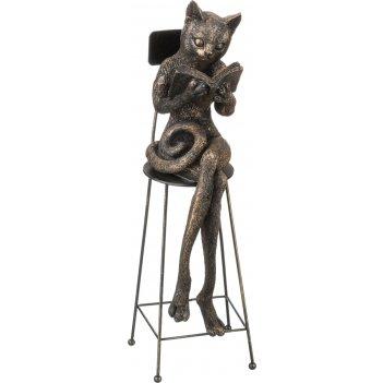 Фигурка кошка 10*8*28 см. серия bronze classic