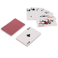 Карты для покера monte carlo, красная рубашка, премиум