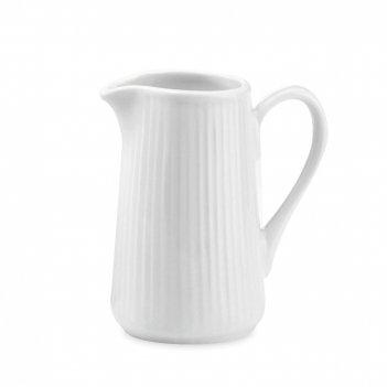 Молочник , объем: 350 мл, материал: фарфор, цвет: белый, серия plisse-toul