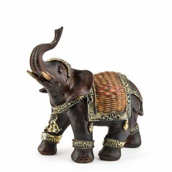 Фигурка декоративная африканский слон 14*8*15см. (транспортная упаковка)