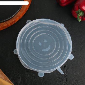 Крышка универсальная для хранения продуктов «черепашка», d=20 см