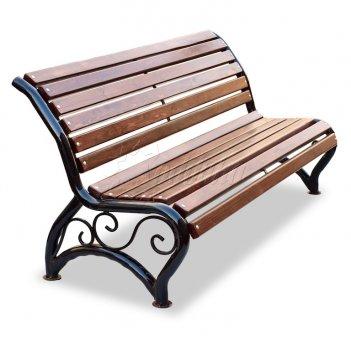 Скамейка уличная «афина уни» 1,2 м