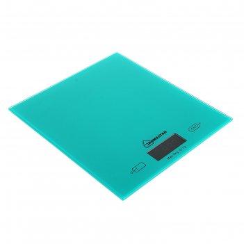 Весы кухонные homestar hs-3006, электронные, до 5 кг, зеленые