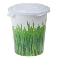 Бак 40л деко трава