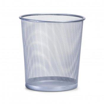 Корзина канцелярская zeller для мусора, металл