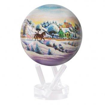 Глобус самовращающийся mova globe d16,5 см рождественский шар