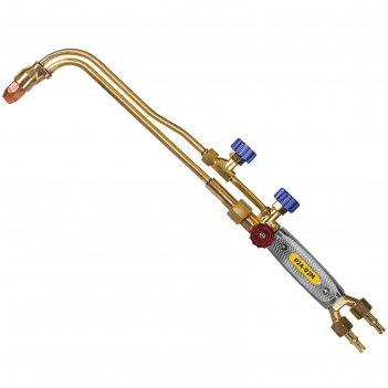 Резак пропановый optima n1102, инжекторный, вентильный, 500 мм, рез 300 мм