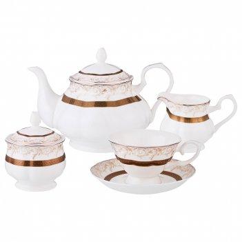 Чайный сервиз на 6 персон 15 пр. версаль 950/210...