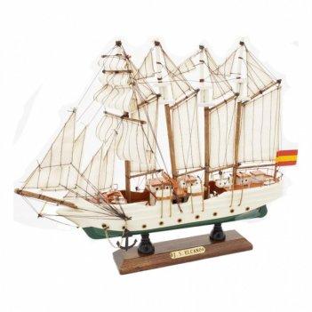 Корабль элькано,  31*25*5,5см