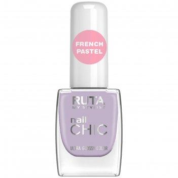 Лак для ногтей ruta nail chic, тон 74, прованс