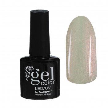 Гель-лак для ногтей трёхфазный led/uv, 10мл, цвет в2-074 жемчужный перламу